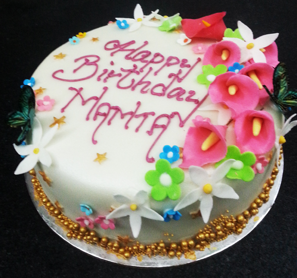 Birthday Cake Pic With Name Mamta : Pin Mamta Cakes And Bakes Cake on Pinterest