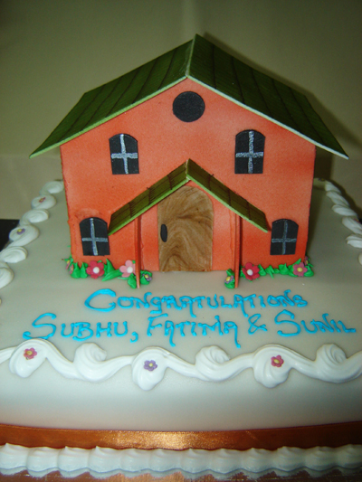 House Warming - Sweet Art Cakes in Goa